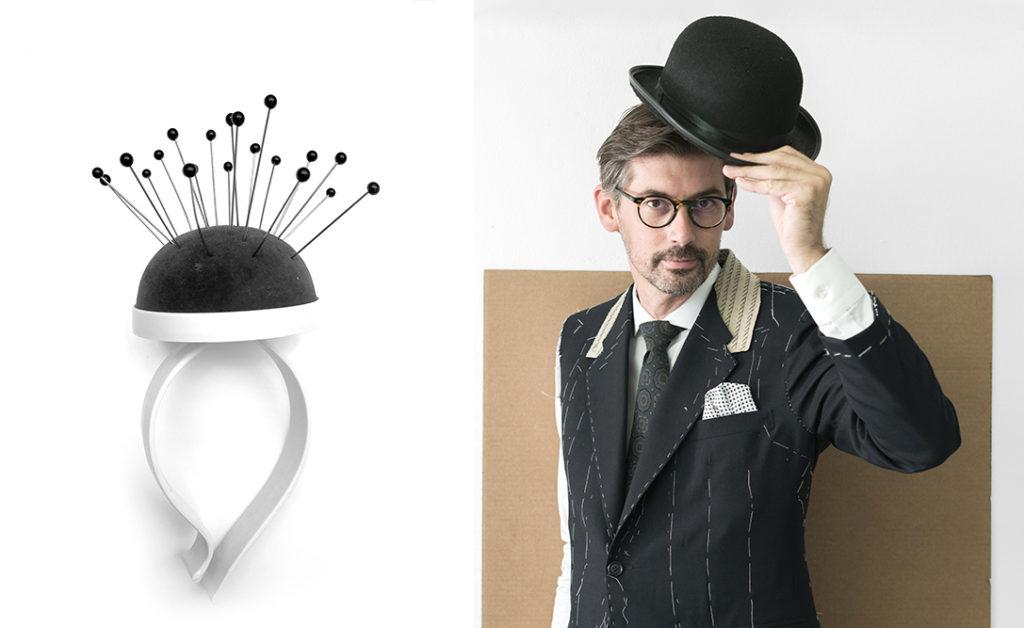 José Manuel Ferrero de Estudi Hac y su lampara Alfi para Estiluz uno de los premios de diseño español en NYCxDesign