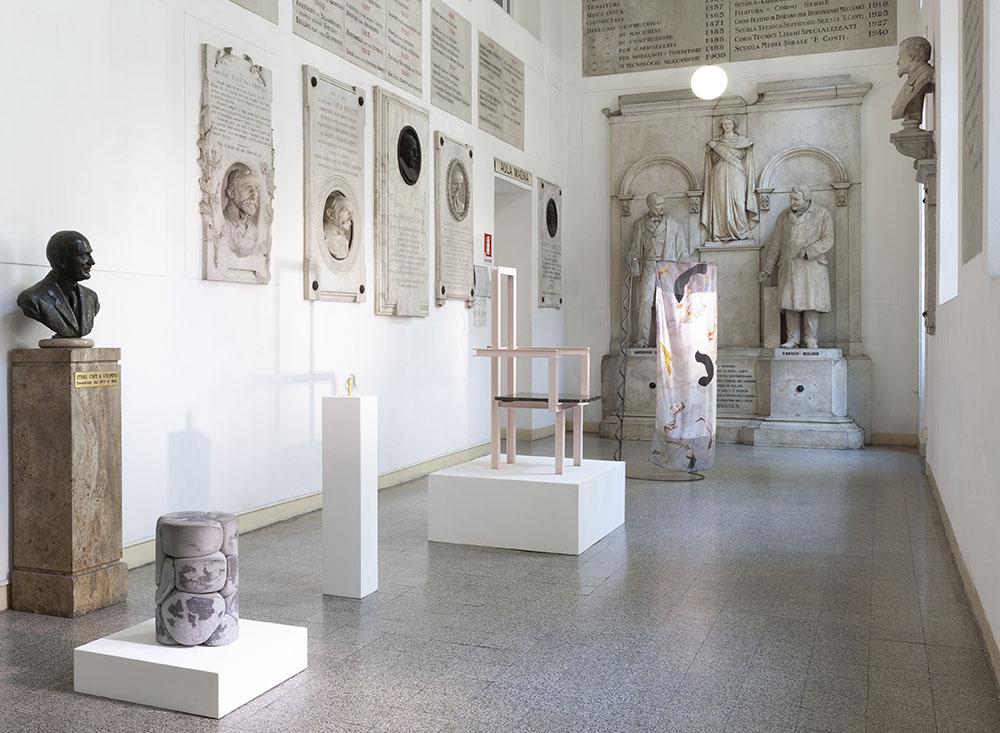 Palazzo Monti exposición 5VIE Milano Design City 2020