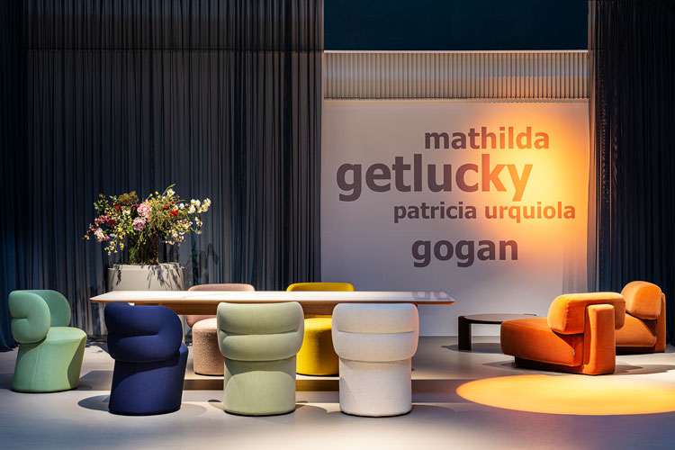 Moroso showroom de Via Pontaccio Milano Design City 2020