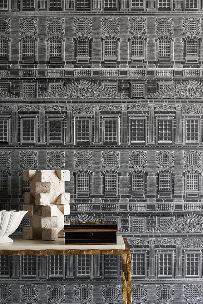 Wren Architecture  papel pintado de la colección  Historic Royal Palace de la firma inglesa Cole and Son
