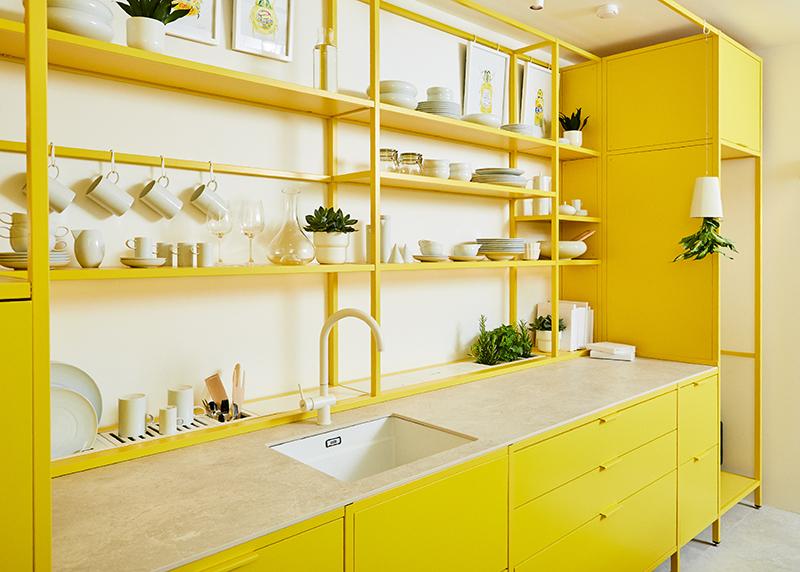 Cocina Kitchen for life de la arquitecta Paula Rosales del estudio More&CO Casa Decor 2021