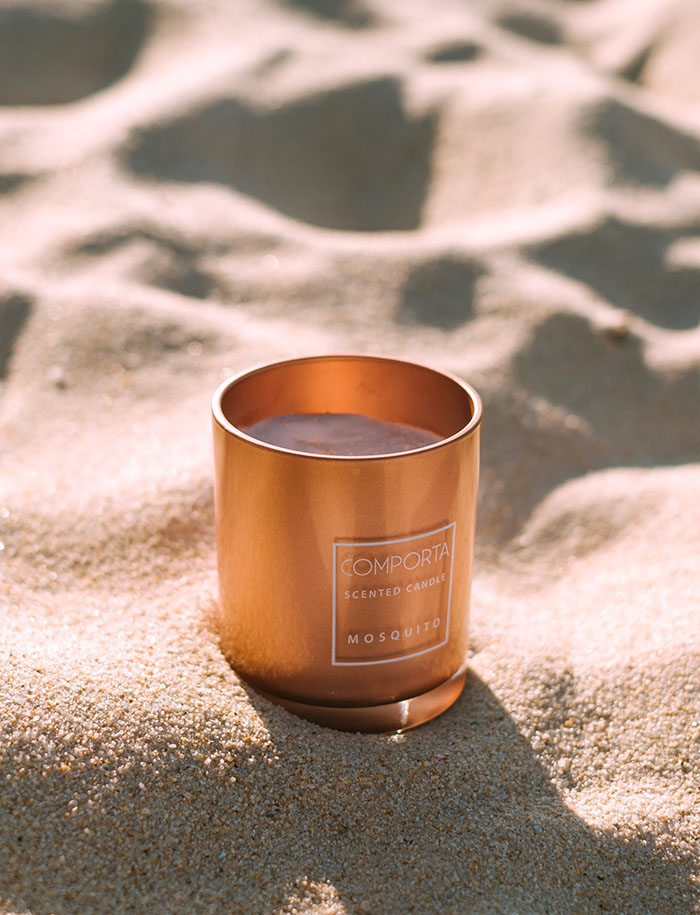 Comporta Perfumes colección Home Stories. Vela mosquito. Scented Candle